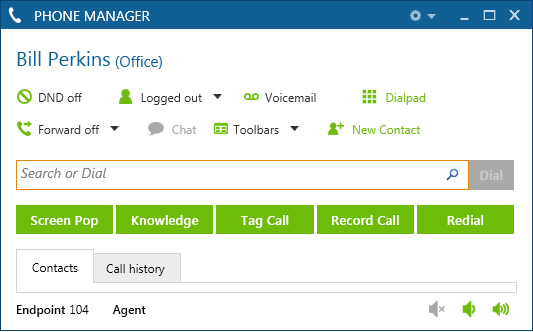 Mitel Phone Manager provides users with desktop control of their calls and messages with an easy to use Unified Communications interface