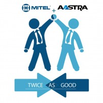 Mitel and Aastra have merged