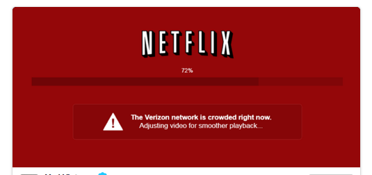 Netflix being ruined by an un-neutral net